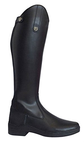 Brogini - Botas de Equitación Modena - Negro, 42 EUR / 10 US, Cuero