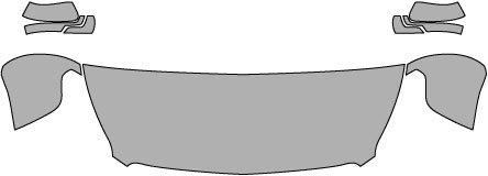 P#: 2015-GMC-YUKON-DENALI--5089 Clear Bra Paint Protection Kit for a GMC YUKON DENALI . This item includes a Pre-Cut kit for: Hood Fenders Mirrors (24 Inch) (3M Scotchgard Film) (Yukon Denali Bug Shield compare prices)