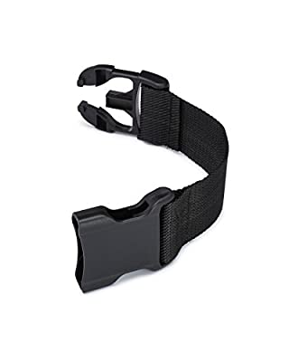 "Dog Harness Chest Strap Extender for Industrial Puppy Harness - Service Dog Vest, Therapy Dog Vest, Emotional Support Dog Vest, and others - Add up to 10"" to Girth Strap"