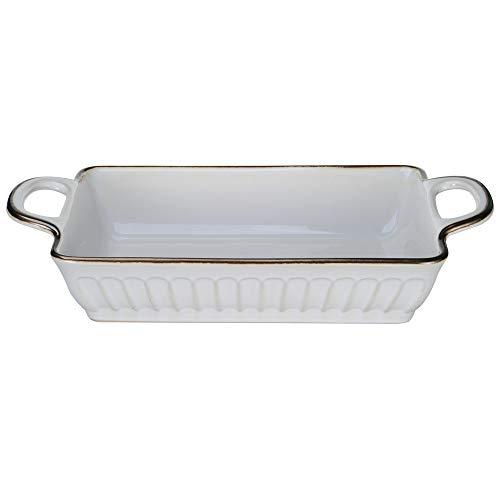Ninepeak Baking Dish Lasagna Pan, Ceramic (16 Inch x 9 Inch)