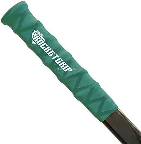 Colore Verde RocketGrip Impugnatura per Bastone da Hockey per Ragazzi e Ragazzi