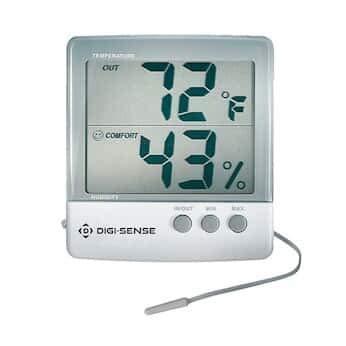 Cole-Parmer Jumbo Display Thermohygrometer 03313-86