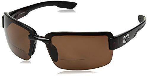 Costa Del Mar Galveston C-Mate 2.50 Sunglasses, Tortoise, Copper 580P ()