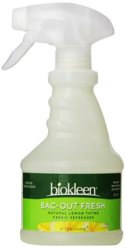 Biokleen Bac-Out Fresh, Fabric Refresher, Lemon Thyme, 16 Ounces (Pack of 6)