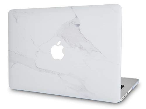 LuvCase Rubberized Plastic Hard Shell Cover Compatible MacBook Pro 13 inch A2159 / A1989 / A1708 / A1706 with/Without Touch Bar, Newest Release 2019/2018/2017/2016 (Altlantic Marble)