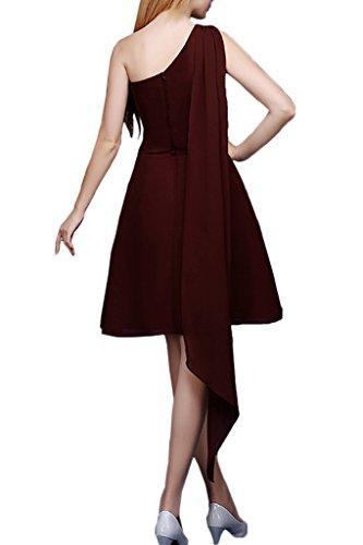 Avril Line Dress Black Gown One Empire A Cocktail Glamorous Dress Shoulder Bridesmaid rrZdxpwqv