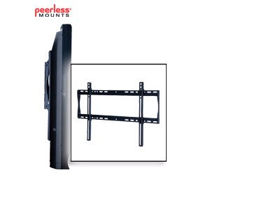 (Peerless Industries Sf650 Lrg Sec Univ Flat Wall Mnt Black For 32 In To 50 In Lcd And Plasma)
