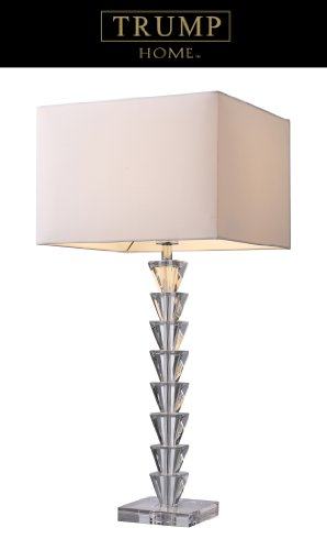 5th Avenue 1 Light - Dimond D1482 Fifth Avenue Table Lamp, Crystal