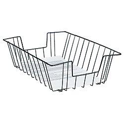 Office Depot Deep Legal-Size Wire Desk Tray, Black, (Legal Desk Tray)