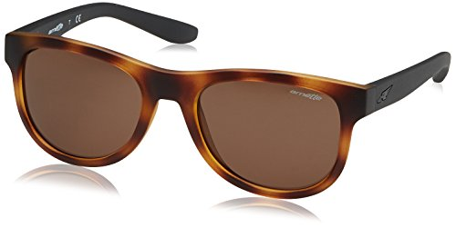 Arnette Class Act Round Sunglasses, Matte Dark Havana, 54 - Surfer Sunglasses
