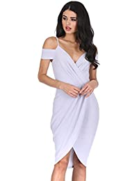 AX Paris Women's Wrap Around Dress