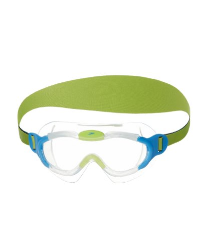 Speedo Kids Biofuse Sea Squad Mask Goggles Goggles, Blue (Bleu), 2-6 Years