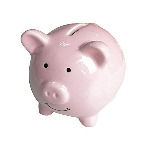 AYUNYUN Cute Ceramic Piggy Bank Saving Cash Coin Money Box Children Toy Bank Gifts Home - Lustre Jug