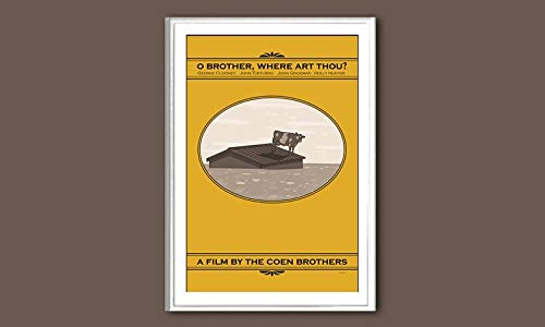 MugKD LLC O Brother Where Art Thou Movie Poster Gifts for Men Woman [No Framed] Poster Home Art Wall Posters (16x24)