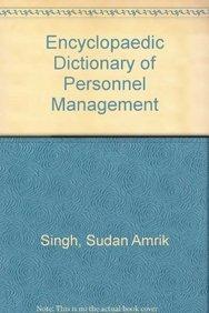Encyclopaedic Dictionary of Personnel Management pdf epub