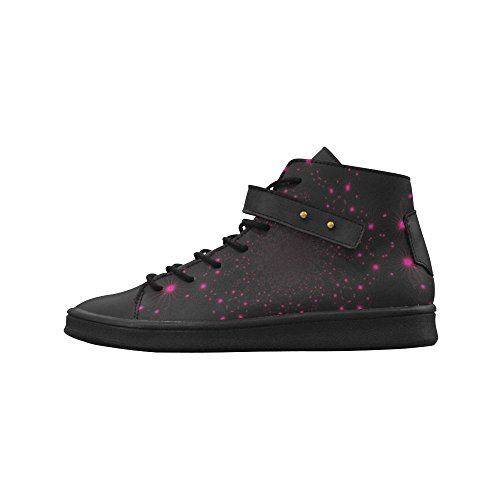 Artsadd Fuchsia Fleur Dhibiscus Bout Rond Chaussures Pour Femmes Boost Sneaker