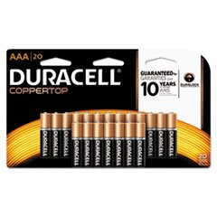 CopperTop Alkaline Batteries with Duralock Power Preserve Technology, AAA, 20/Pk, Total 12 PK, Sold as 1 Carton