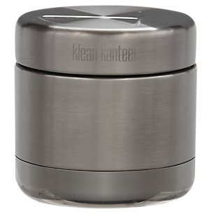 a5e20d8d425 Klean Kanteen Vacuum Insulated Food Canister with Stainless Lid, Brushed  Stainless, 8-Ounce