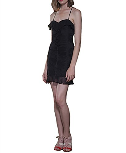 The Jetset Diaries Aphrodite Mini Dress In Black (Small) - Aphrodite Mini Dress