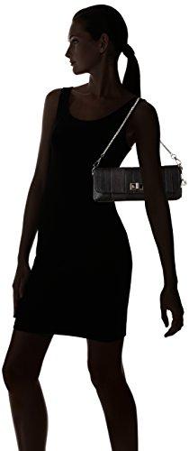 Picard Clutch Strip - Bolsa Mujer negro