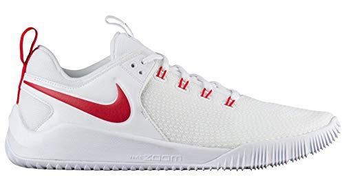 Nike Women's Zoom HyperAce 2 Training Shoe White/University Red Size 8 M US