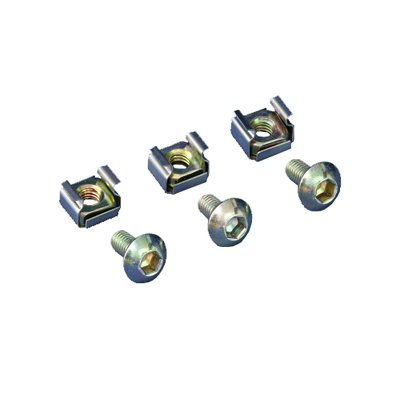 NORCO SA-2100 Inner 6-angle rack mounting screw&nut M6x12 20pcs ()