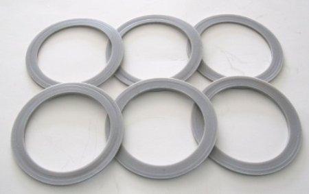6 Pack Oster/Osterizer Blender Blade Sealing Ring Gaskets (Ring Osterizer Blender Rubber)