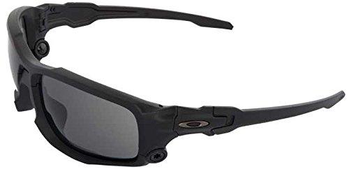 Glasses, Gry Lens, Blk Frame, Det Cord by Oakley (Image #1)
