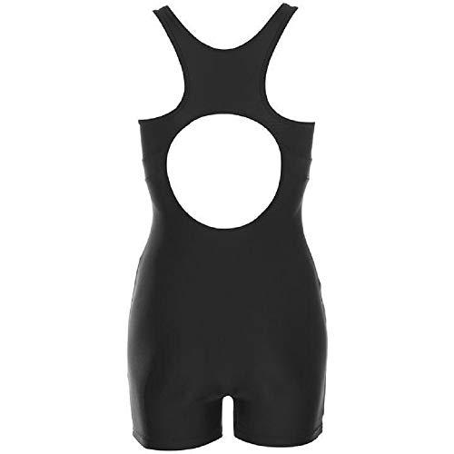 44aa9098e5164 Slazenger. Ladies Shorts Leg Racing Back Swimsuit  Amazon.co.uk  Clothing