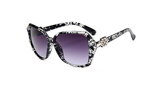 LYM 7 de retro las amp;Gafas Color gafas Gafas de temperamento sol mujeres anti protecciónn amp; UV de 8 1ar1q