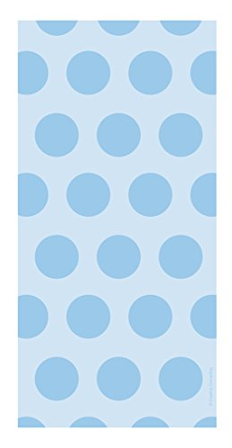 Creative Converting 71059 20 Count Cello Treat Bags with Polka Dots, Pastel (Cello Loot Bags)