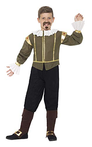 Shakespeare Costumes For Kids - Smiffys Shakespeare Costume