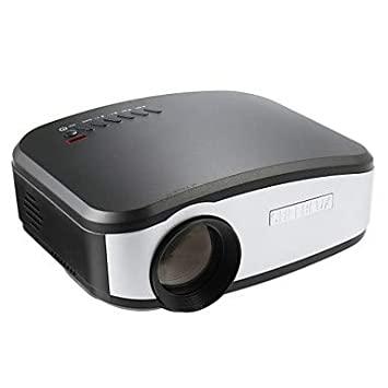 LCD De Cine En Casa Proyector LED Proyector 1200Lm Apoyo 1080P ...
