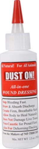 Four-Oaks Farm Ventures 030335 Dust-on All in One Wound Dressing Clay, 2.5 oz