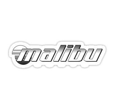 Malibu Boats Logo   Sticker Graphic   Auto  Wall  Laptop  Cell  Truck Sticker For Windows  Cars  Trucks