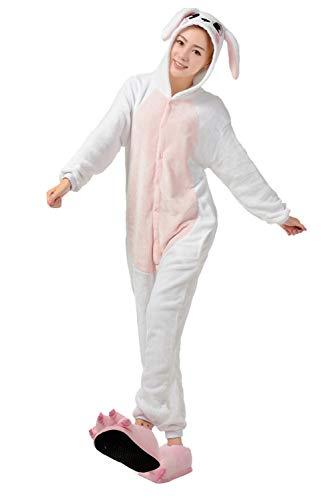 Intera Anime Halloween Sleepwear Monopezzi Compleanno Ragazza Donna Kigurumi Rosa Jumpsuit Tuta Unisex Adulto Flanella Pigiama Natale Cosplay Festa Regalo Animale Di Costume Tuzi Uomo Bienbien Unicorno X0wzqOg