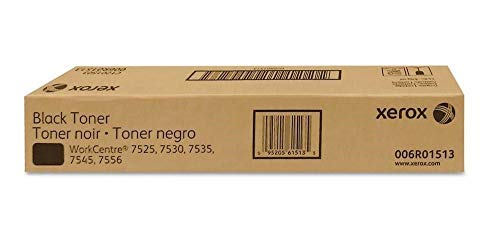 Xerox 006R01513 Black Toner for The WorkCentre 7525/7530/7535/7545/7556, 6R1513 ()