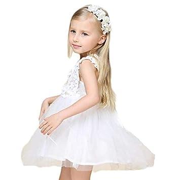 aadec251533c5 キッズドレス Yochyan 子供 女の子 キュート 可愛い ベビー服 子供服 ノースリーブ ドレス おしゃれ プリンセスドレス 柔らかい