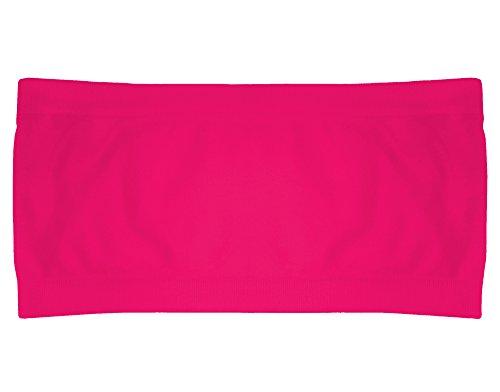 Popular Girls' Seamless Bandeau - Pink