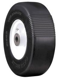 9x350x4 Flat Free Lawn Mower Tire for Exmark, John Deere, Toro, Ferris, Lesco, Kees Mowers- Carlisle Reliance 210cm Flat Proof Tire