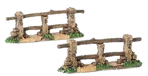 Fontanini Fences Italian Nativity Village Accessory Figurines Set of 2