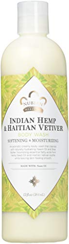 Nubian Heritage Indian Hemp Body Wash, Indian Hemp 13 OZ (Pack of 3)