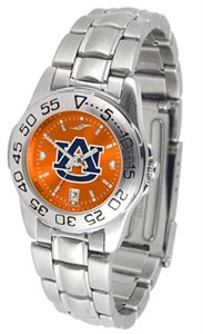 s Anochrome Watch (Stainless Steel) (Auburn Tigers Womens Stainless Steel)