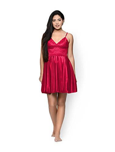 Cherry Fit and Flare Nighty