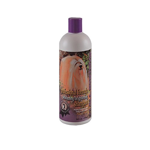 #1 All Systems Professional Formula Whitening Pet Shampoo, 16-Ounce