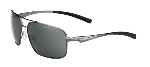 Bolle Brisbane Sunglass with TNS Lens, Shiny - Sunglasses Bolla