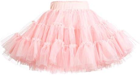 Baby Tutu Skirt Toddler Little GirlsBallet Dance Tulle Skirt 1-10T