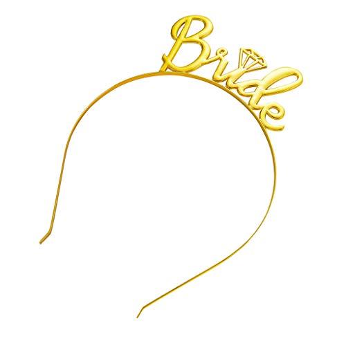 ❀❀Ratoop❀❀Bridal Simple Diamond Crown Hair Accessories Headband Wedding Accessories