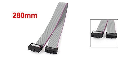 Cable Plano eDealMax Mujer placa sin soldadura Plana, 14 Pines 280 mm: Amazon.com: Industrial & Scientific
