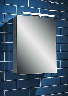 Premier Luxury Bathroom Mirror Cabinet With Light ANGELO